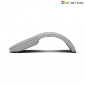 Souris Microsoft Surface Arc Mouse Bluetooth 4.0 gris clair