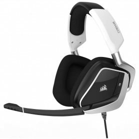 Micro Casque Corsair VOID PRO RGB SURROUND 7.1 USB Gaming Blanc