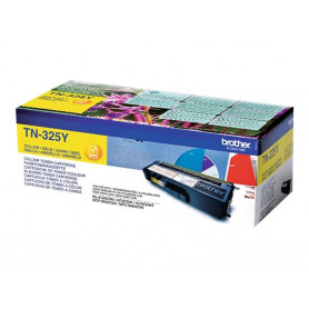 Toner Brother TN-325Y Jaune 3500 Pages