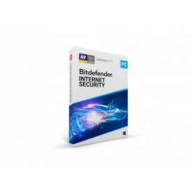 Bitdefender Internet Security 2020 - 1 an - 5 postes