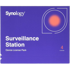 Synology - Pack licence 4 cameras