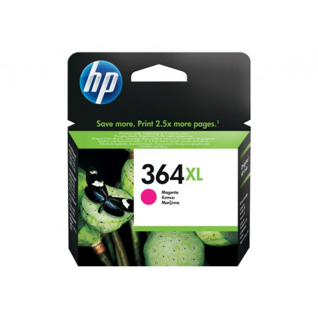 Cartouche HP 364 XL Magenta 750 pages CB324EE CARTHP364XL_M - 1