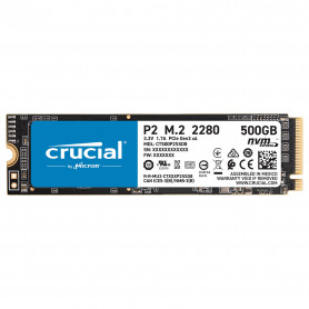 SSD 500Go Crucial P2 M.2 Type 2280 2300Mo/s 940Mo/s NVMe PCIe SSD500_C_P2-M2 - 1