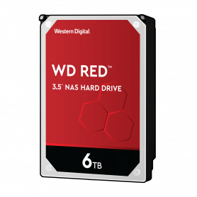 Disque Dur SATA 6To 256Mo WD RED WD60EFAX