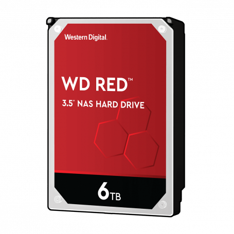 Disque Dur SATA 6To 256Mo WD RED WD60EFAX DD6TOWD60EFAX - 1