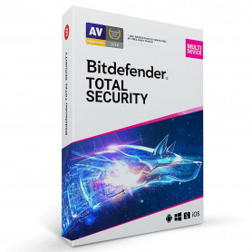 Bitdefender Total Security - 2 ans - 10 postes Multi-appareil