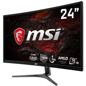 "Ecran MSI Optix G241VC 24"" 1920x1080 75Hz 1ms Curved"