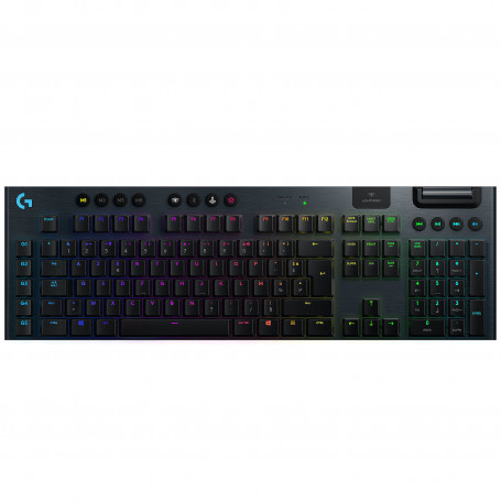 Clavier Logitech G915 Lightspeed Gaming Clicky Carbone CLLOG915CARB-CLICK - 1