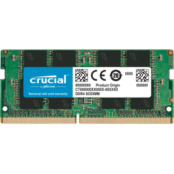 DDR4 Portable 16Go 2666 Mhz Crucial  CT16G4SFRA266 1.2V CL19 DDR4PO_16_C_903563 - 1