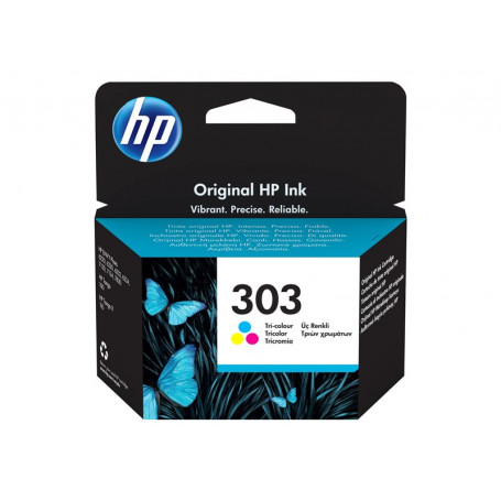 Cartouche HP 303 Couleur T6N01AE 165pages CARTHP303C - 1