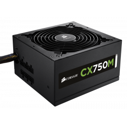Alimentation Corsair CX750M 750 Watts 80Plus Bronze Modulaire