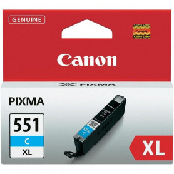 Cartouche Canon CLI 551 XL Cyan CARTCLI551XL-C - 1