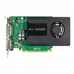 Carte Graphique PNY Nvidia Quadro K2000D 2Go 2 x DVI 1 x mini DP