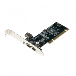 Carte PCI LogiLink PC0006A 1394a 3 Ports + 1 Port Interne CPCI-LL_PC0006A - 1
