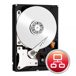 Disque Dur SATA 6Gb/s 4To IntelliPower 64Mo WD RED WD40EFRX NAS