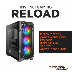 PC Gamer RELOAD Ryzen 7 3700X 16Go 1To RTX 3060 12Go Windows 10