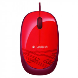 Souris Logitech M105 Red Optique 1000dpi USB