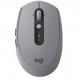 Souris Logitech Wireless Mouse M590 Silent Grise Bluetooth + USB