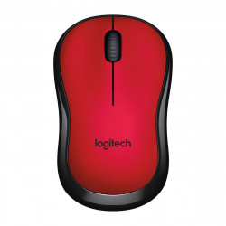 Souris Logitech Wireless Mouse M220 Silent Rouge USB unifying
