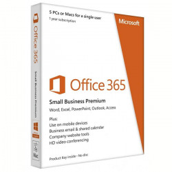 Microsoft Office 365 Small Business Premium 5 Poste (PKC) Abo 1 an