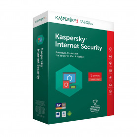 Antivirus Kaspersky Internet Security 2018 1 Poste 3 Ans