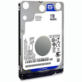 Disque Dur 2.5 SATA 1To 5400trs 128Mo Western Digital WD10SPZX 7mm