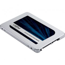 SSD 1To Crucial MX500 Sata 3 560Mo/s 510Mo/s
