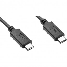 Cable USB Type C Male/Male USAMS 1.2M Noir 5/9/14V 30Watts