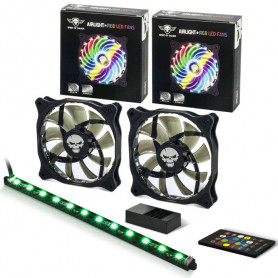 Kit Ventilateurs + Barre LED RGB AIRLIGHT Spirit Of Gamer SOG-AFR1