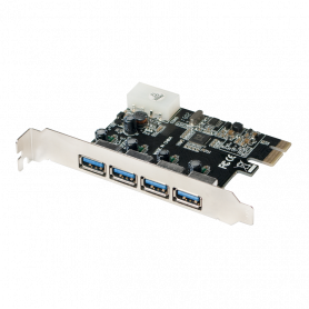 Carte PCI Express LogiLink PC0057A USB 3.0 4 Ports