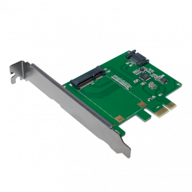 Carte PCI Express LogiLink PC0077 1 x mSATA + 1 x SATA