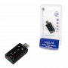 Carte Son Externe USB 2.0 LogiLink 7.1 UA0078 2x entrées 3.5mm CSEXLL_UA0078 - 2