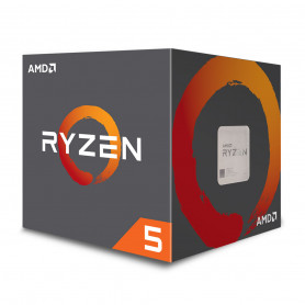 Processeur AMD RYZEN 5 2600X 3.6Ghz 20M 6Core 95W AM4