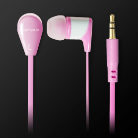 Ecouteurs Intra-Auriculaires Campus Groovy Pink MIC-E215RO Rose
