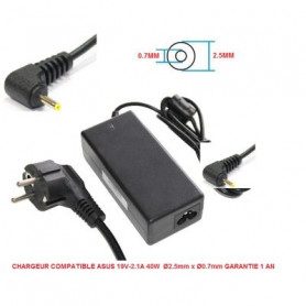 Chargeur Compatible Asus 19V 2.1A 40W 2.5/0.7mm