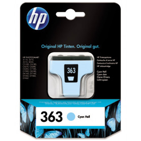 Cartouche HP 363 Cyan Clair C8774EE 220pages CARTHP363CC - 1