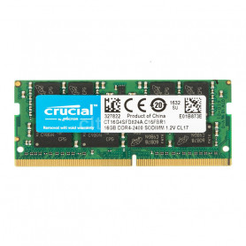 DDR4 Portable 16Go 2400 Mhz Crucial CT16G4SFD824A1.2V CL17