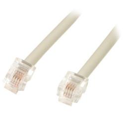 Cable Réseaux RJ45 1m Droit Cat5 Blindé