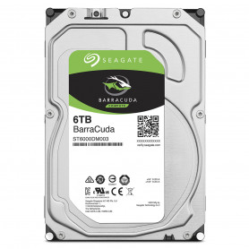 Disque Dur SATA 6Gb/s 6To 5900trs 256Mo Seagate ST6000DM003