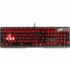 Clavier MSI Vigor GK60 Gaming Rouge (Cherry MX RED)