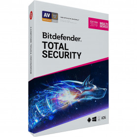 Bitdefender Total Security 2019 - 2 an - 10 postes