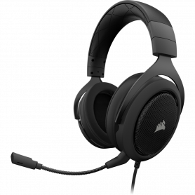 Micro Casque Corsair HS60 Carbone Gaming 7.1 SURROUND