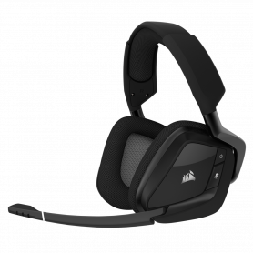 Micro Casque Corsair VOID Pro RGB Dolby 7.1 Wireless Gaming Carbone