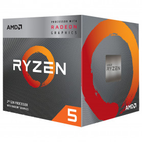 Processeur AMD RYZEN 5 3400G 3.7Ghz 6M 4Core 65W AM4