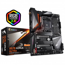 Carte Mère Gigabyte X570 AORUS ULTRA ATX AM4 DDR4 USB3.1 M.2 WIFI