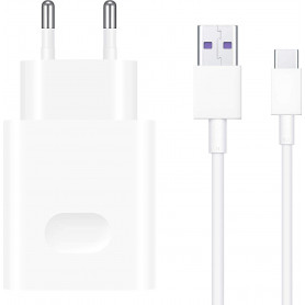 Chargeur Huawei CP84 SuperCharge 40W + Câble USB Type C 1m