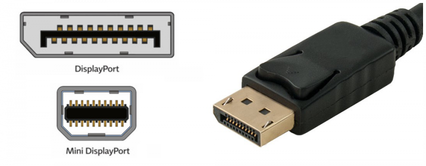 Câble DisplayPort
